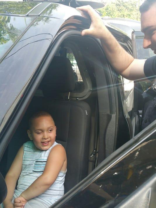 Aziyah VanDunk Ringwood Police birthday 2018