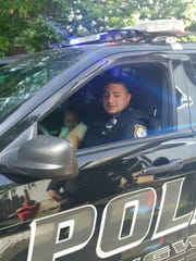 Aziyah VanDunk, a 5-year-old, from Ringwood got the birthday surprise of his young life when Officer Brian Wunk took him for a birthday spin on June 9.