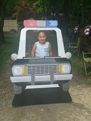 Aziyah VanDunk, a 5-year-old, from Ringwood got the