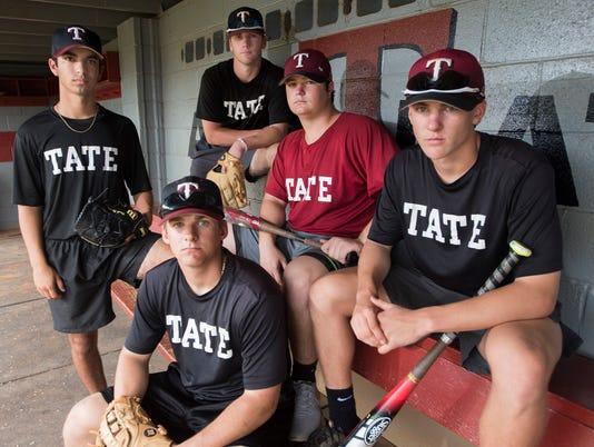 Tate Baseball Portrait