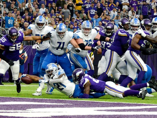 Detroit Lions at Minnesota Vikings