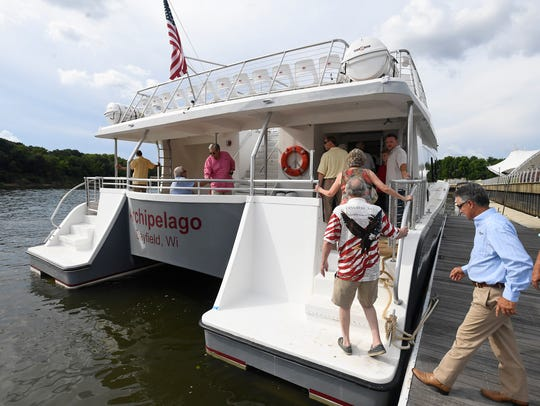 The Apostle Islands Cruises boat built by Sentinel
