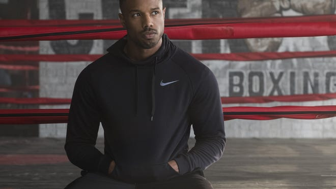 """Michael B. Jordan stars in """"Creed II."""" The movie opens Tuesday at Regal West Manchester Stadium 13 and R/C Hanover Movies."""