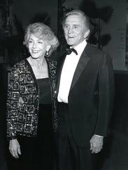 Old Las Palmas residents Kirk and Anne Douglas c. 1960.