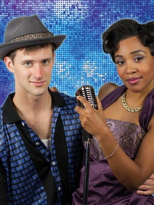 "CJ Pawlikowski and Tia DeShazor star in the Phoenix Theatre production of ""Memphis."""