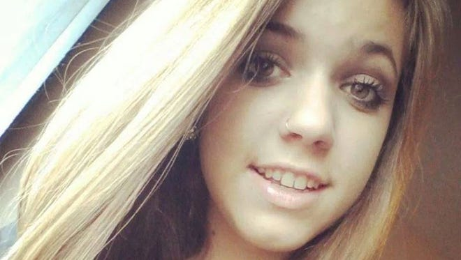 Brittany Perry, 17, in a photo posted on gofundme.com. Her family has asked for the help to fund her memorial service.