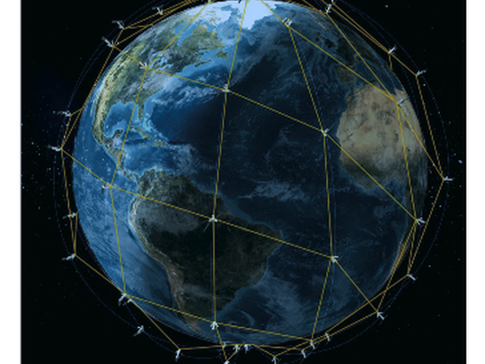 Iridium Next Satellite Constellation