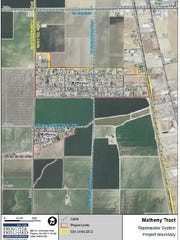 Matheny Tract aerial view.