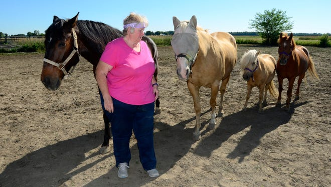Candy Rosenberger is a 4-H adviser for the  Rockin' Riders 4-H Club in Oak Harbor.