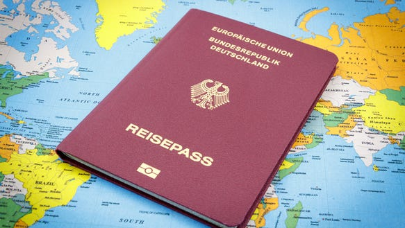 German citizens can use their passports for visa-free