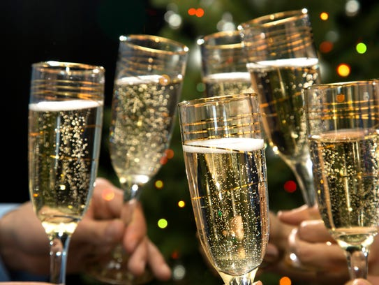Champagne traditionally helps ring in the new year.
