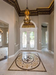 Soaring ceilings and intricate tile mosaics give the