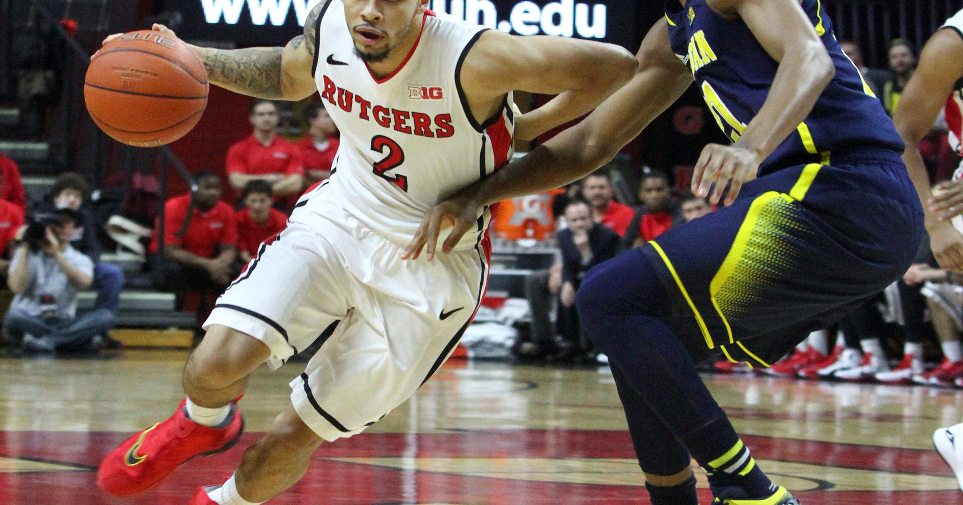 078de7f20e2 Shorthanded Michigan pins painful loss on Rutgers