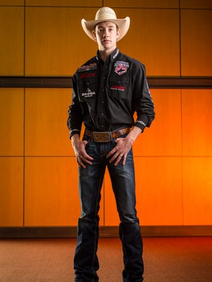 """""""It's been my dream to be a world champion bull rider since I could remember,"""" said Tanner Byrne, one of the top competitors in his sport."""