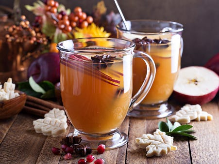 Here are five drinks to enjoy as the days grow shorter and the nights longer.