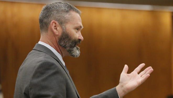 Deputy District Attorney Dennis Krueger