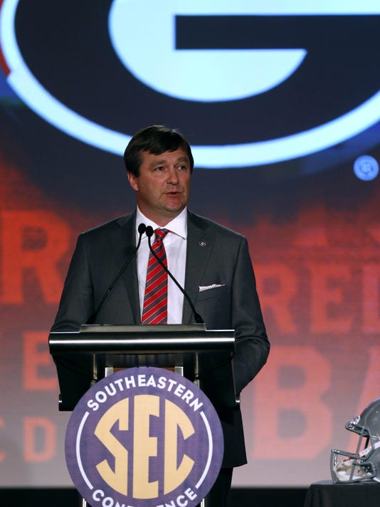 NCAA Football: SEC Media Day