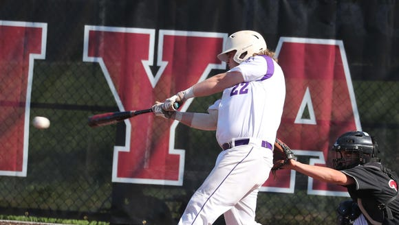 Nyack defeated John Jay 3-2 in eight innings in a Class