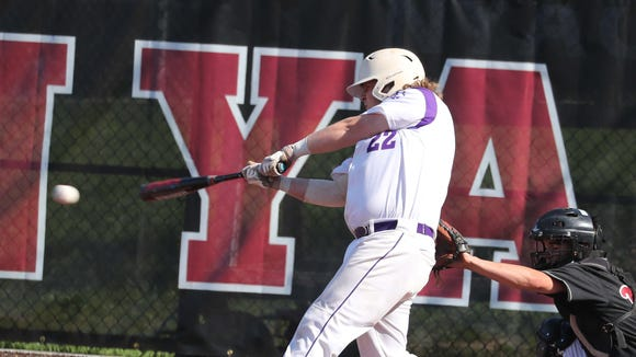 Nyack defeated John Jay 3-2 in eight innings in a Class A first round baseball playoff game at Nyack High School May 21, 2018.