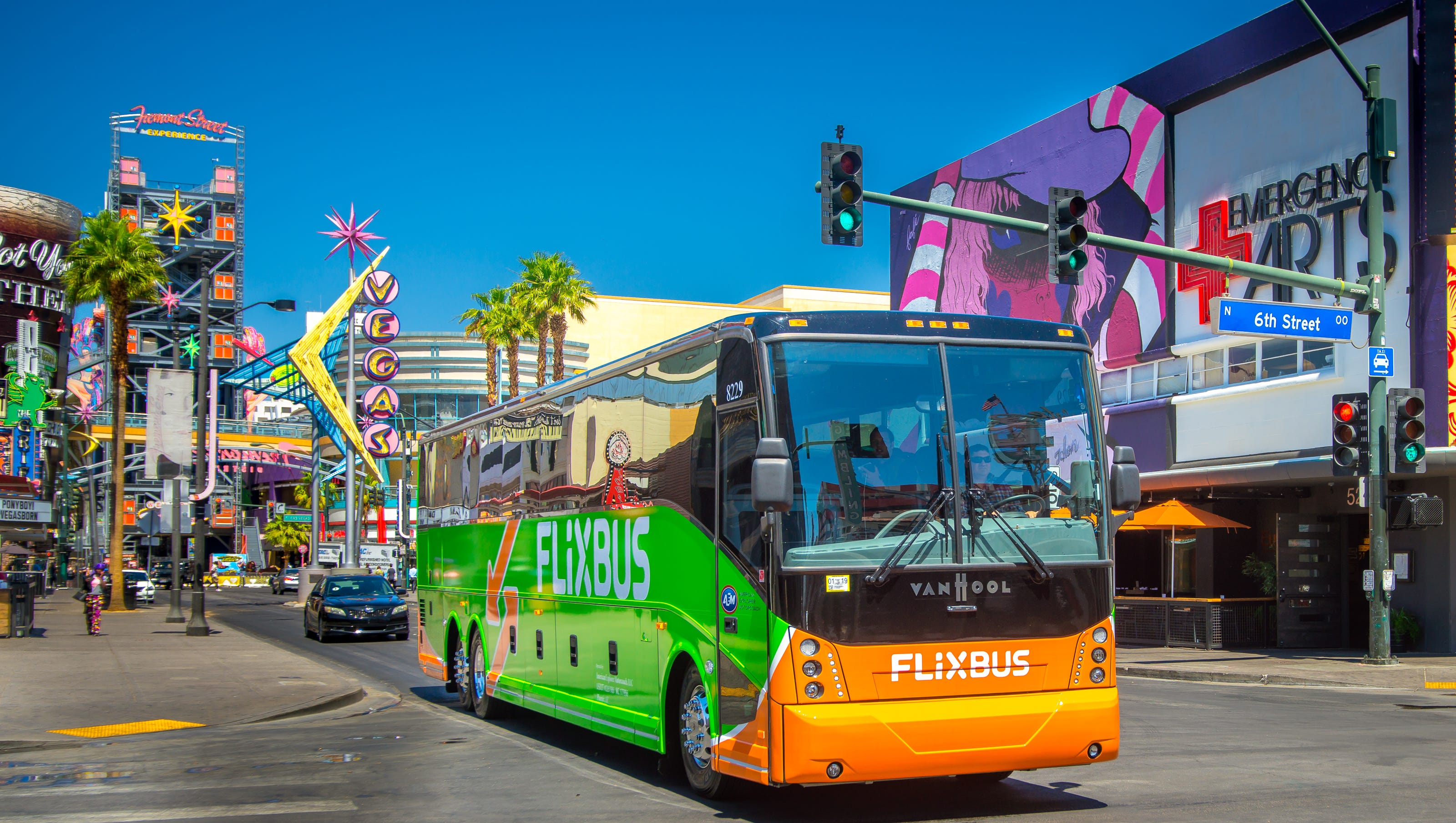 Flixbus Re Launches Two Hour Bus Line From Palm Springs To L A