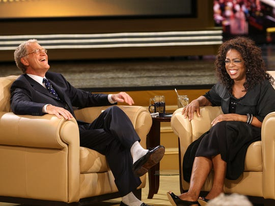 """David Letterman notoriously """"feuded"""" with Oprah Winfrey for years."""