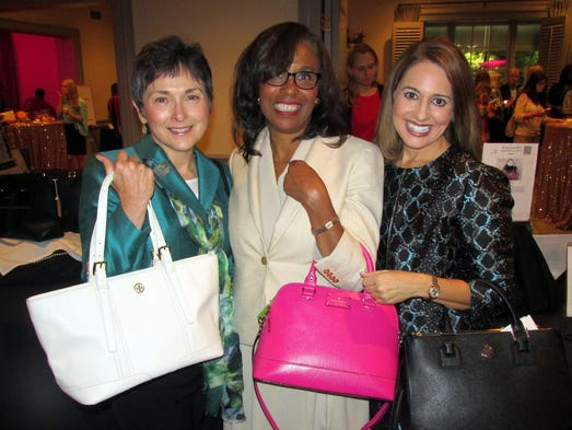 From left, Amy Schaefer, Lynne Walker and Stephanie