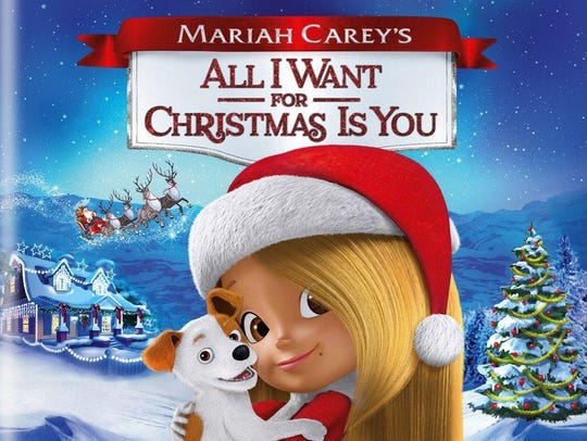 """Mariah Carey's All I Want for Christmas Is You"" DVD"