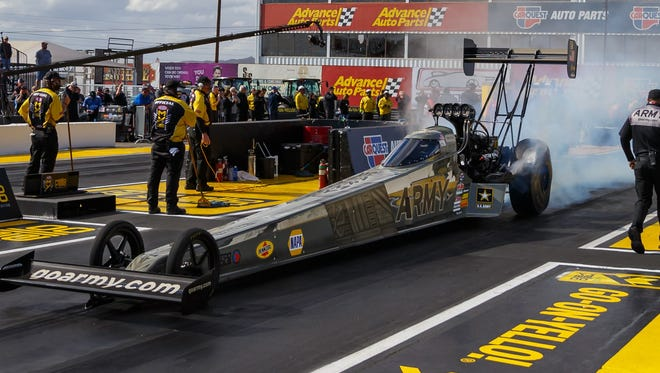 Tony Schumacher went faster than any NHRA before.