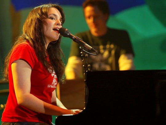 When she was booked to play the 2002 jazz fest, Norah