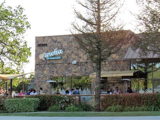Aroha New Zealand Cuisine opened in Westlake Village in 2014. Its owners added an outdoor bar patio this spring.