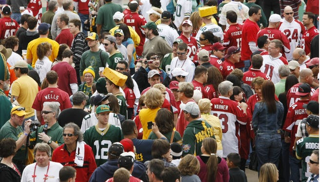 Packers fans will be everywhere this weekend.