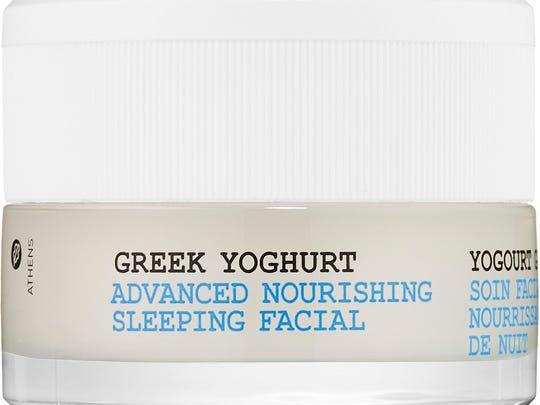 Korres' Greek Yoghurt Advanced Nourishing Sleeping Facial