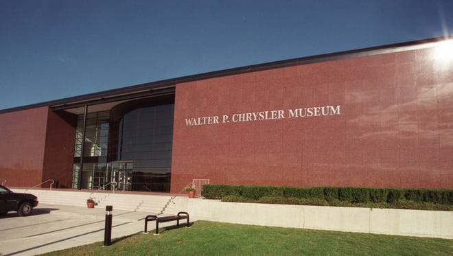The facade of the soon-to-open Walter P. Chrysler Museum in Auburn Hills.