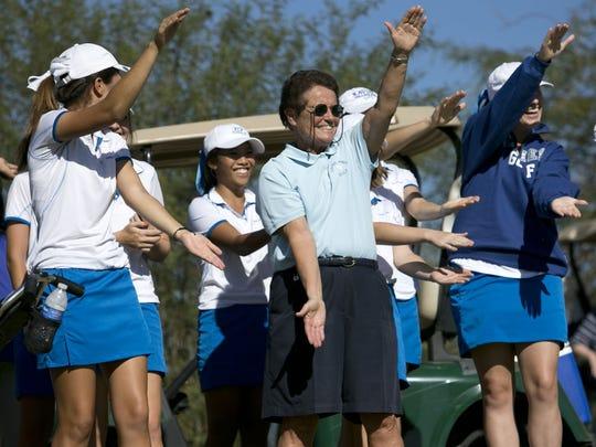Sister Lynn Winsor has built a golf dynasty at Xavier Prep.