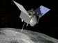 An illustration of what the OSIRIS-REx spacecraft could