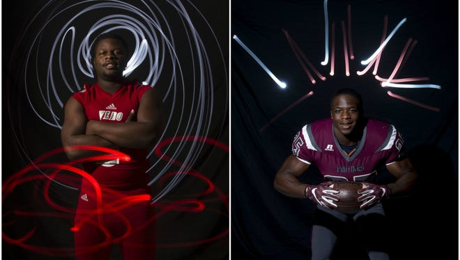 Vero Beach High School's Akeem Dixon and Fort Pierce Westwood High School's Marques Burgess are the TCPalm All Area Offensive Player of the Year finalists.