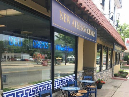 """New Athens Corner, 28 Woodbridge Ave. in Highland Park, invites the public to a """"Taste of Greece: Greek Savory & Sweet Pastries, Wine & Fun"""" from 7 to 10 p.m. May 12."""