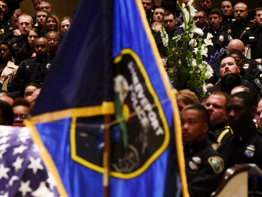The funeral for Shreveport Police Department officer Chatéri Payne, Saturday January 19, 2019 at Summer Grove Baptist Church.