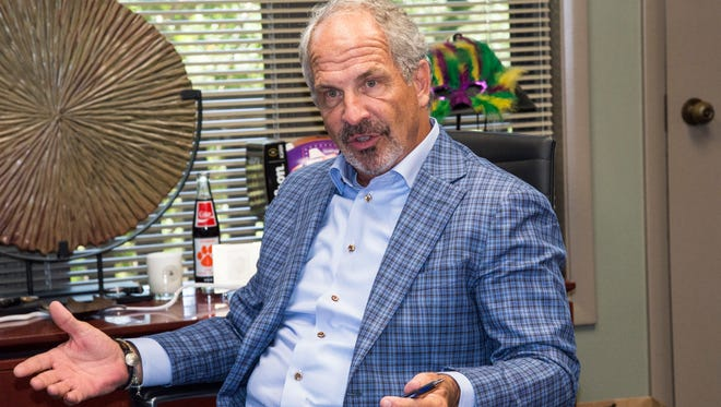 Tony Williams, founder of Greenville-based Infinity Marketing, started the now $40 million company out of his home on Pettigru Street 24 years ago.