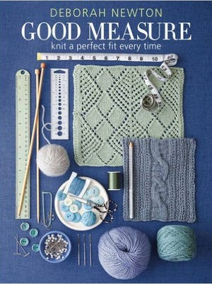 """""""Good Measure"""" is Deborah Netwon's book about knitting a perfect fit every time."""