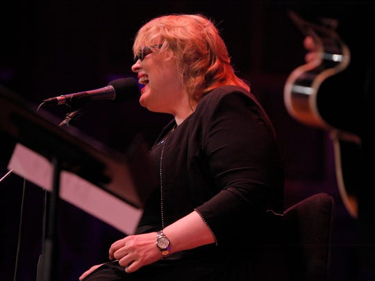 Diane Schuur performs in Kilbourn Hall on the sixth day of the 2014 Xerox Rochester International Jazz Fest.