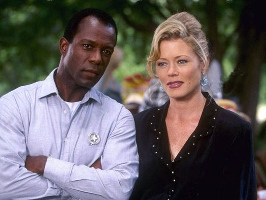 Clarence Gilyard Jr as James Trivette and Sheree J.