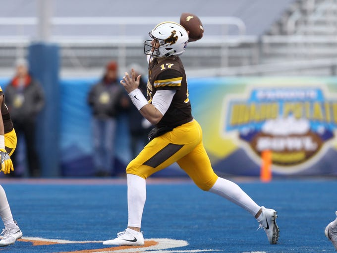 Josh Allen, quarterback, Wyoming.