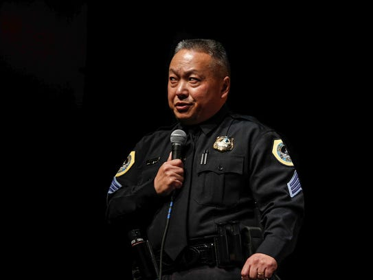Doua Lor, a sergeant at the Des Moines Police Department,