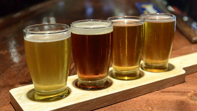 times heralDSome of Michigan?s downtown bars could be open to 4 a.m. on weekends under a state Senate bill approved Thursday.A flight of four craft beer samples, from left, Bell's Oberon, Great Lakes Brewing Company Eliot Ness, Founder's All Day India Pale Ale and Odd Side Citra Pale Ale, right, set on the bar inside Lynch's Irish Tavern, Tuesday July 9, 2013.