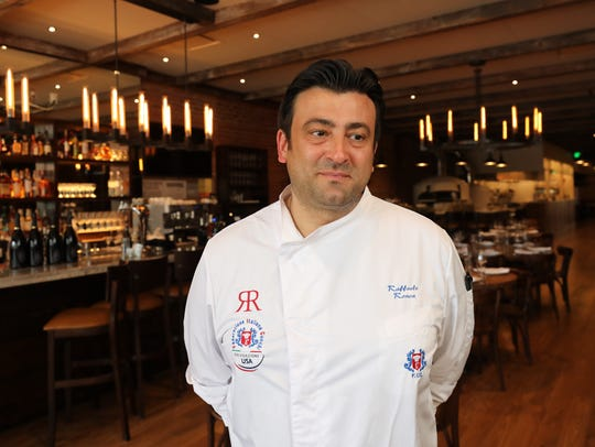 Raffaele Ronca, the chef/owner of Rafele Rye on Purchase