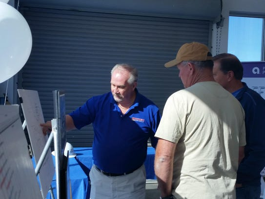 Wild West Chevrolet owner Don Lindberg shows local