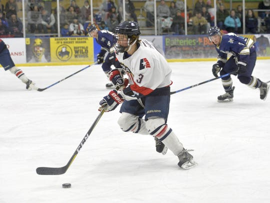 Great Falls Americans Ice Hockeyplay Sept. 21 and 22 in Great Falls at the IcePlex.