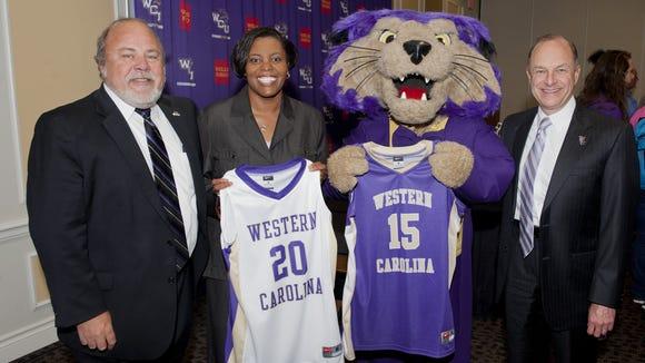 Coach Stephanie McCormick and Western Carolina will