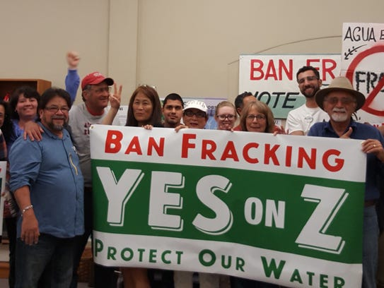 Measure Z, is the anti-fracking measure and is one